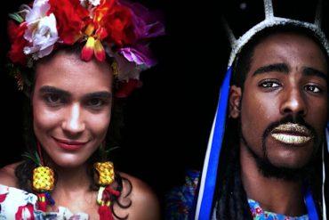 Anuncio iPhone X Carnaval - modo retrato