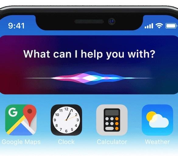 Concepto iOS 12 - Siri