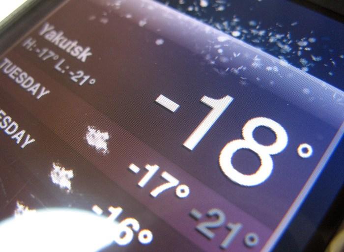 iPhone Frozen