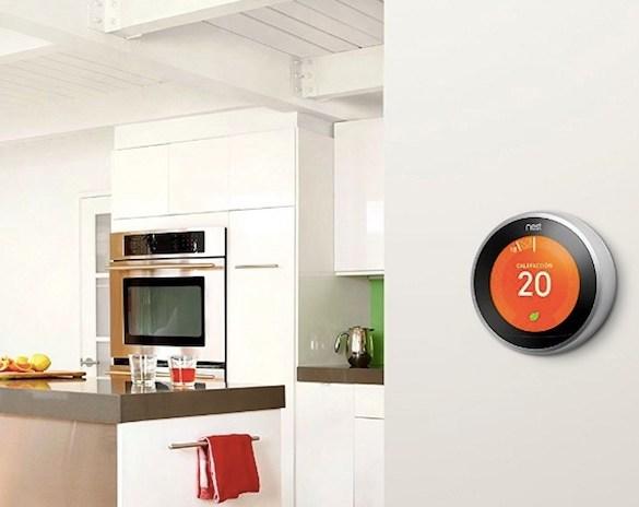termostato inteligente nest