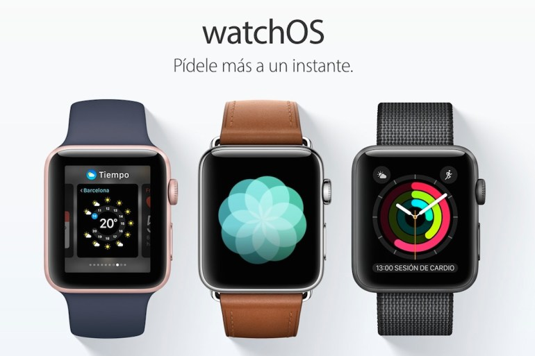 watchOS 3 Apple Watch