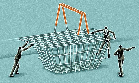 Matt Kenyon shopping basket