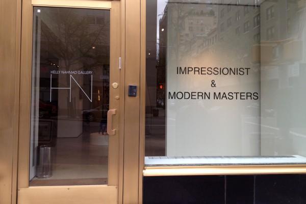 En abril de 2013, la galería neoyorquina Helly Nahmad cerró sus puertas durante una semana, luego de que uno de sus propietarios fuese acusado de organizar apuestas ilegales. Getty