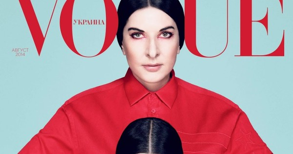 Marina Abramović, Crystal Renn by Dusan Reljin for Vogue Ukraine August 2014
