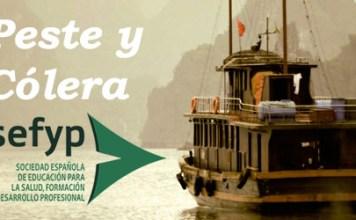 Portada de Peste y Cólera con Logo SEFYP