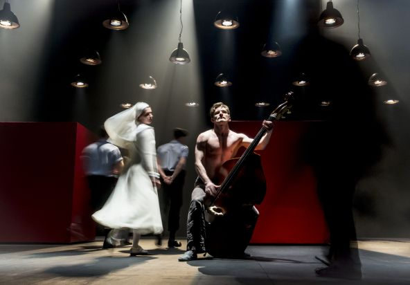 MEASURE FOR MEASURE by Shakespeare, , Writer - William Shakespeare, Director - Declan Donnellan, Designer - Nick Ormerod, Lighting - Sergei Skornetsky, Paris, 2015, Credit: Johan Persson/