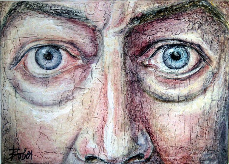 retrato ojos