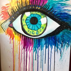 Crying colours