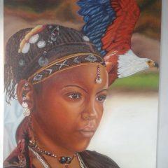 Tótem águila africana