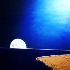 Amanece la luna
