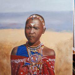 Mujer Massai