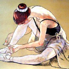 Bailarina en reposo
