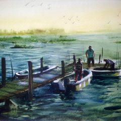 A la pesca