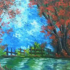 Un paisaje y una pausa