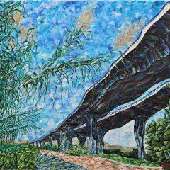 Los cipreses del puente.