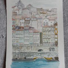 Oporto y rio Duero