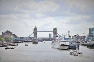 View from the London Bridge
