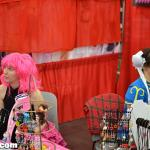 2 dealers at their booth in Anime Matsuri