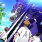 screenshot from buddy complex showing Aoba being attacked at in high school