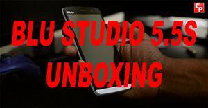 Blu Studio 5.5S Unboxing