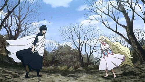 Fairy Tail screenshot of mavis and zeref