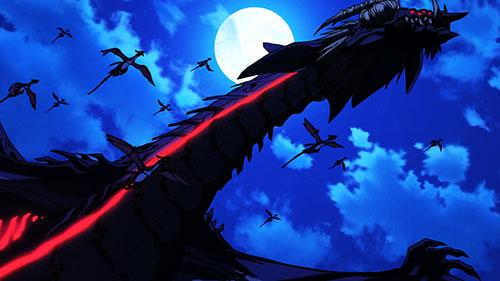 Cross Ange Genesis screenshot of Dragon at the end of Episode 2