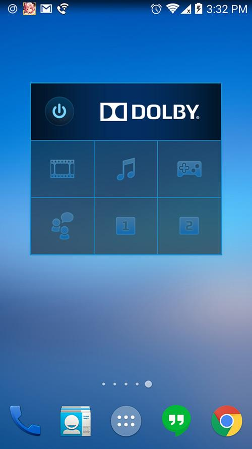 ZTE ZMAX Dolby Audio Widget