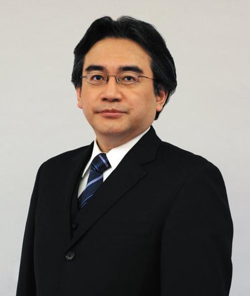Picture of Satoru Iwata President of Nintendo that passed away