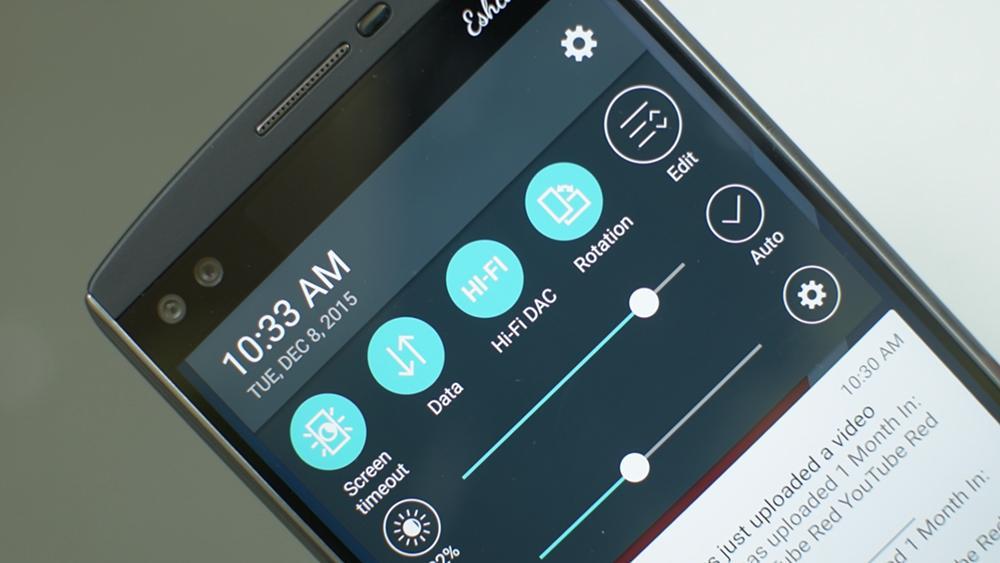 LG V10 Sound