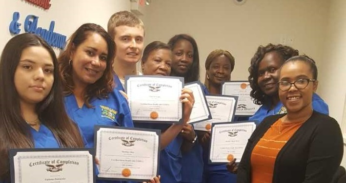 Where Quality Counts! Congratulations to the Certified Home Health Aide Class of October 2018