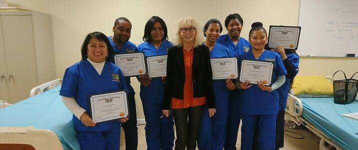 Congratulations to the Elizabeth Certified Home Health Aide of November 2018