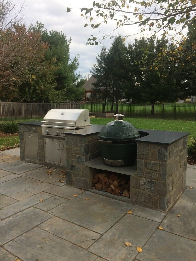 Backyard Grill and Patio in Lancaster, PA Eshelman Mill Gardens and Landscapes