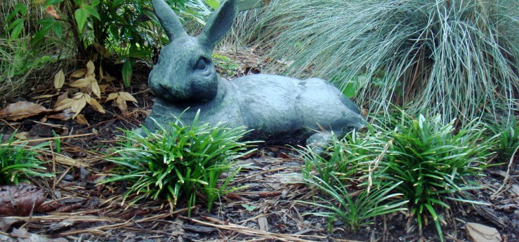 Rabbit Garden Sculpture