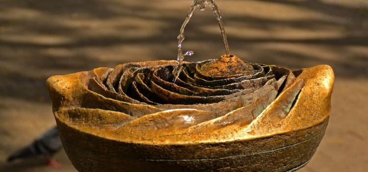 Fountain Water Basin