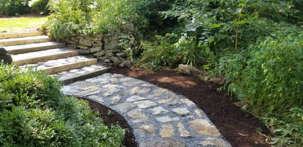 Stone Walkway Path