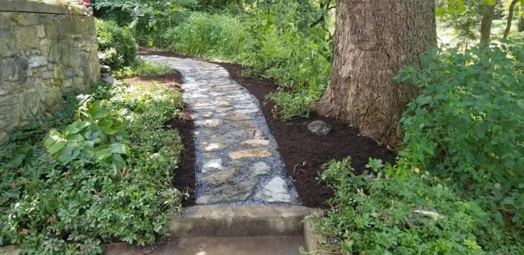 Long Stone Walking Path