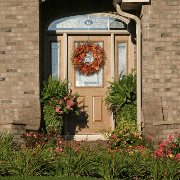 Porch Decor Fall Wreath