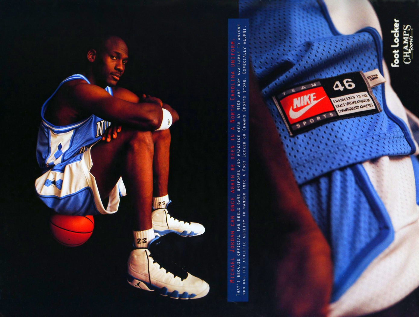 30 for 23 eshe magazine one of the staples of air s is the unc colorway which always came out during mid season during his basketball career