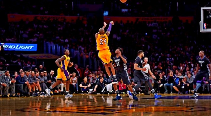 Bean Drops 38 in a Lakers victory over the Timberwolves