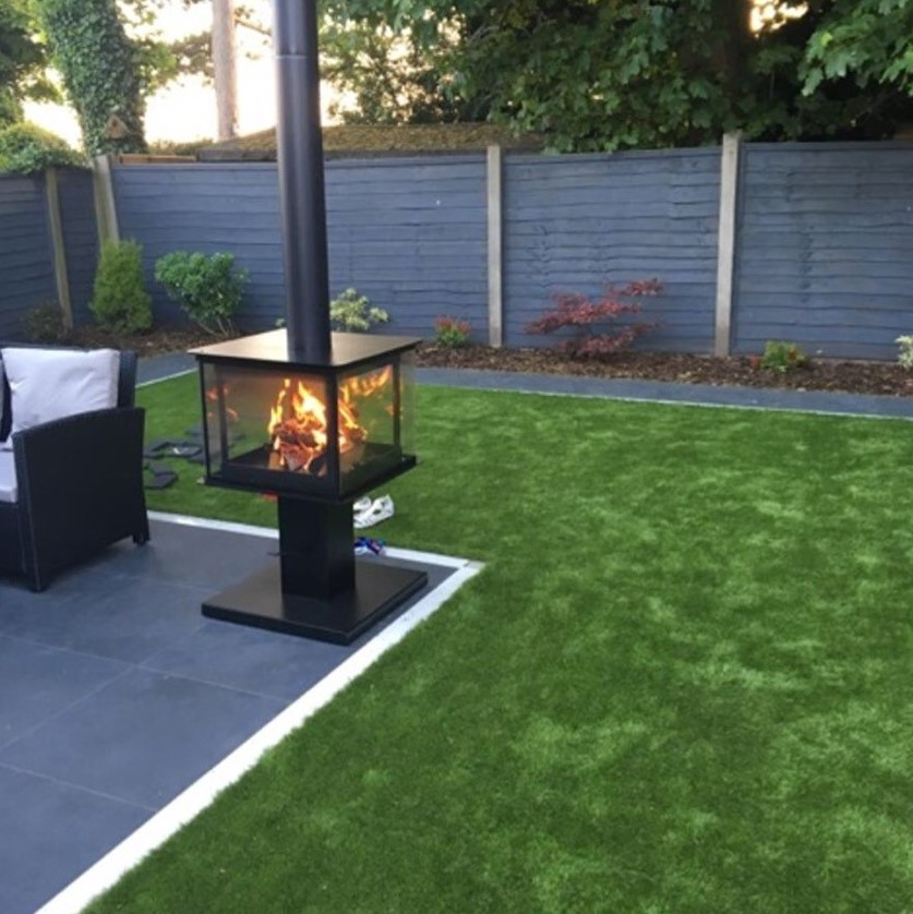 Garden Cube  Outdoor Stove  Esher Fireplaces