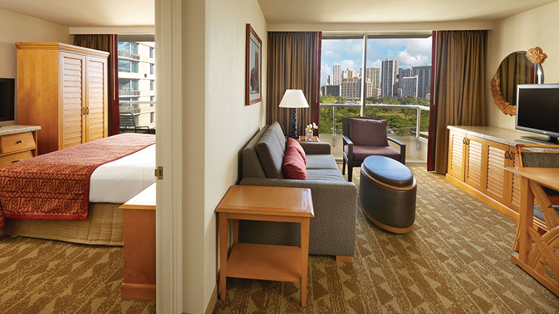 Oahu One  Two Bedroom Suites  Embassy Suites Waikiki Beach Walk
