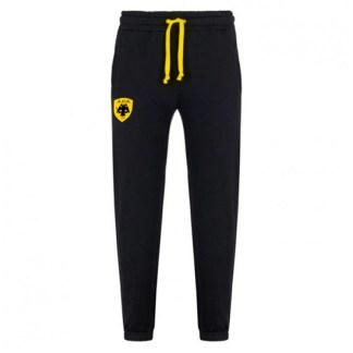 Βαμβακερό παντελόνι φόρμας ΑΕΚ Μαύρο