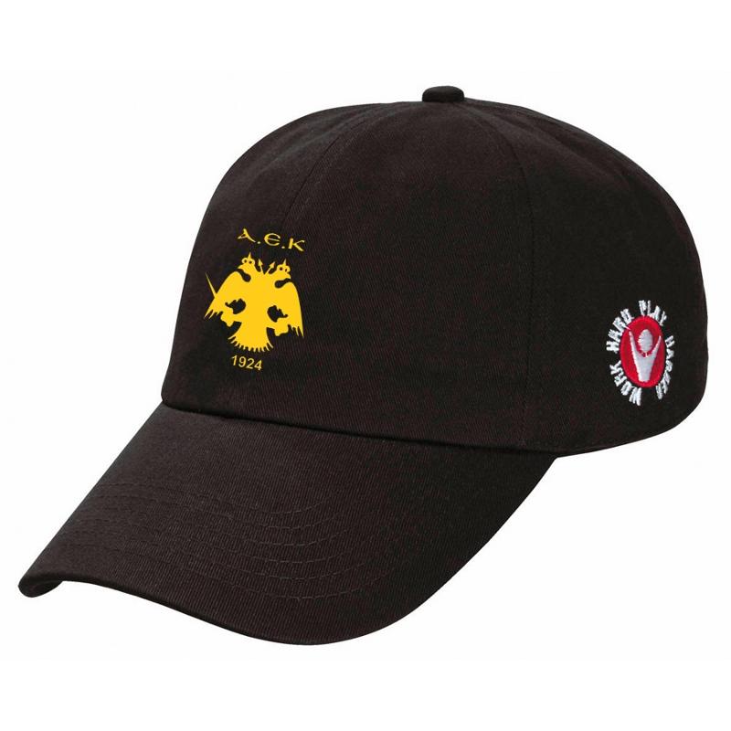 Καπέλα ΑΕΚ Μαύρο