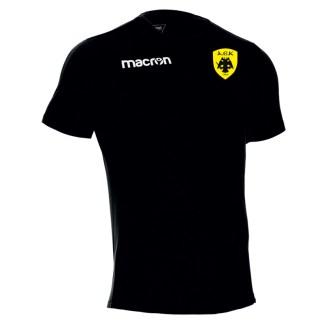 T-shirt 100% Βαμβάκι Μαύρο