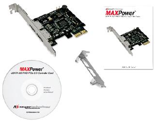 Newertech MAXPower 4-port eSATA 6G PCIe 2.0 Raid