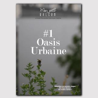 Magazine N°1 – jardinage sur balcon