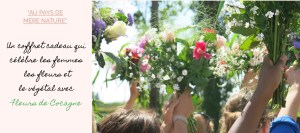 au pays de mère nature, une box jardinage bio en partenariat avec l'association vers l'insertion professionnelle des femmes, fleurs de cocagne - échoppe végétale
