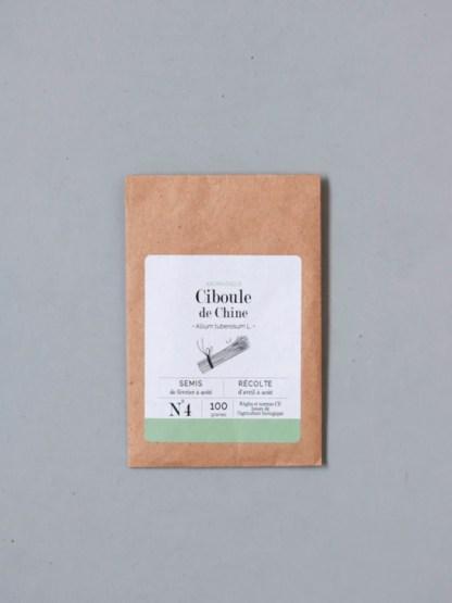 graines bio et reproductibles de ciboule de Chine - échoppe végétale