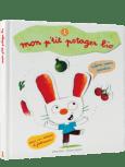 livre pour jardiner avec les enfants en famille : Mon p'tit potager bio - salamandre - Danièle Schulthess.