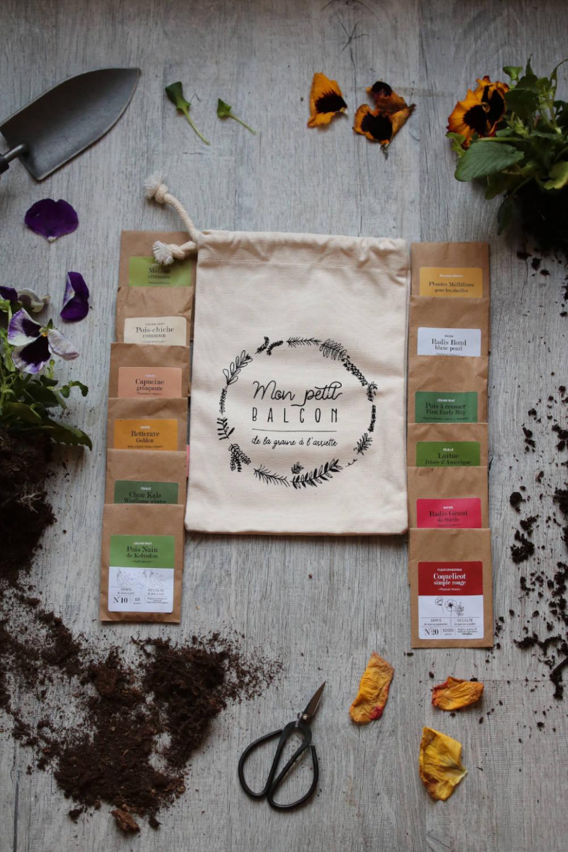 12 sachets de graines 1 calendrier du jardin potager cadeau thique l 39 choppe v g tale. Black Bedroom Furniture Sets. Home Design Ideas